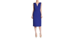 Wool Seamed Sheath Dress by Christian Dior  in Suits