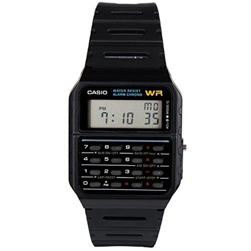 CA53W Calculator Watch by Casio in Back To The Future Part II