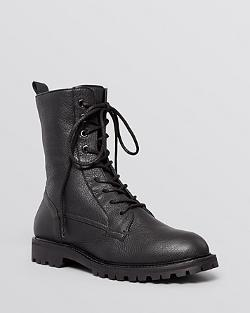 Flat Lace Up Combat Boots by Max Mara in The Expendables 3