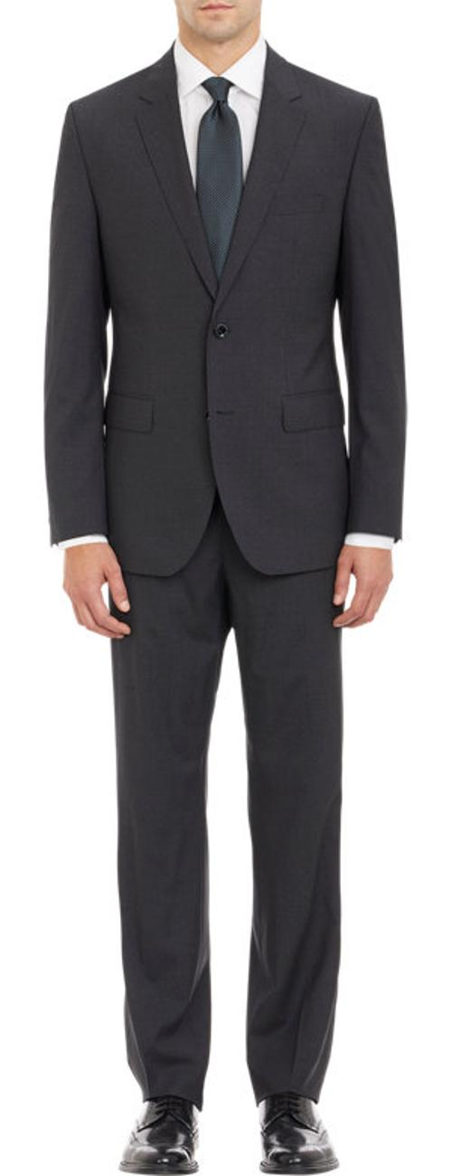 Micro-Grid Two-Button Suit by Hugo Boss in Lee Daniels' The Butler