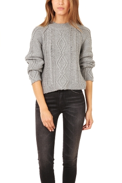 Mixed Cable Pullover by 3.1 Phillip Lim in Before I Wake