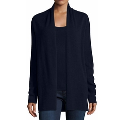 Cashmere Draped Cardigan by Neiman Marcus Cashmere Collection in Modern Family