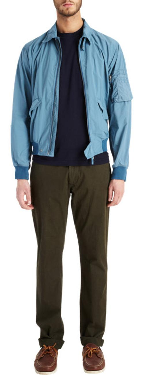 Lightweight Bomber Jacket by Aspesi in No Strings Attached