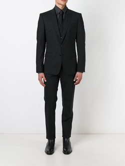 Classic Three-Piece Suit by Dolce & Gabbana in Elementary