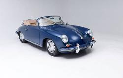1965 Porsche 356 Convertible/Coupe by Porsche in The November Man