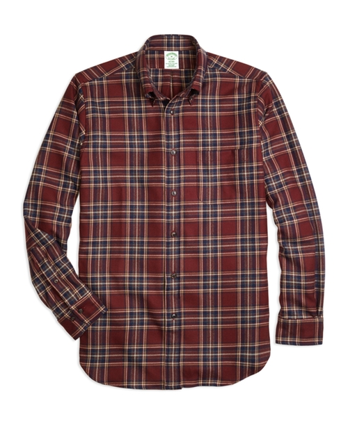 Fit Saxxon Wool Plaid Sport Shirt by Milano in Scream Queens - Season 1 Episode 13