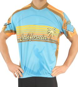 California Cycling Jersey by Canari in Savages