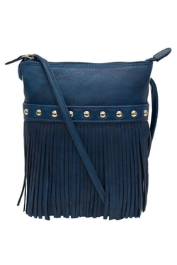 Fringe Mini Sac Bag by Ili World in She's Funny That Way