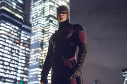 Custom Made Daredevil Costume by Stephanie Maslansky (Costume Designer) in Marvel's The Defenders