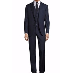 Modern-Fit Wool Suit by Pal Zileri in Billions