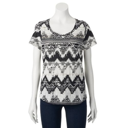 Printed Embellished Tee Shirt by Sonoma Life + Style in Me and Earl and the Dying Girl