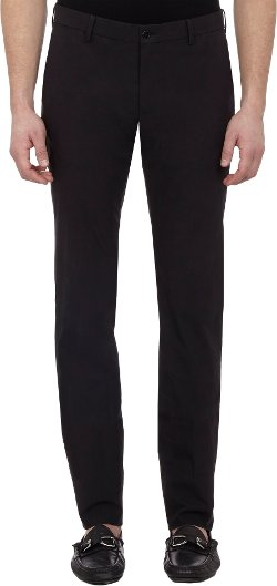 Flat-Front Trousers by Ralph Lauren Black Label in Only God Forgives