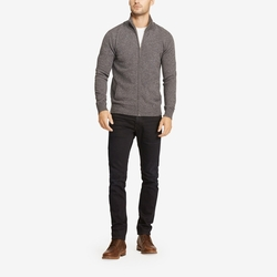 Cashmere Full-Zip Jacket by Bonobos in Black-ish
