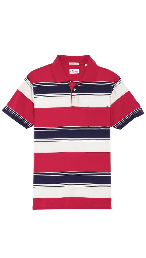 Awning Stripe Polo Shirt by Gant Rugger in We're the Millers