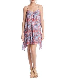 Free Spirit Geometric Print Dress by Karen Kane in The Bachelorette