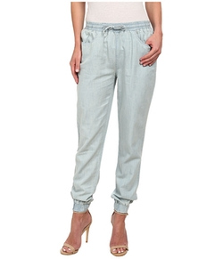 Sully Chambray Jogger Pants by Jack By BB Dakota in Rosewood
