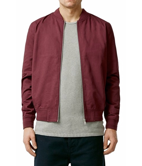 Cotton Bomber Jacket by Topman in Popstar: Never Stop Never Stopping