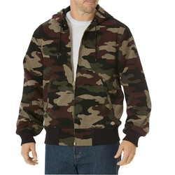 Camo Duck Thermal Lined Hooded Jacket by Dickies in Inherent Vice