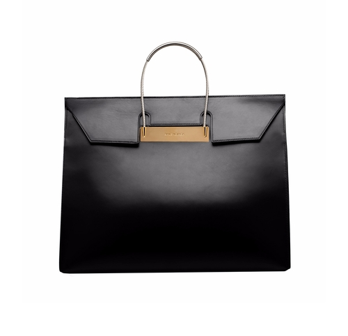 Cable-Handle Flap Medium Shopper Bag by Balenciaga in Suits - Season 5 Episode 9