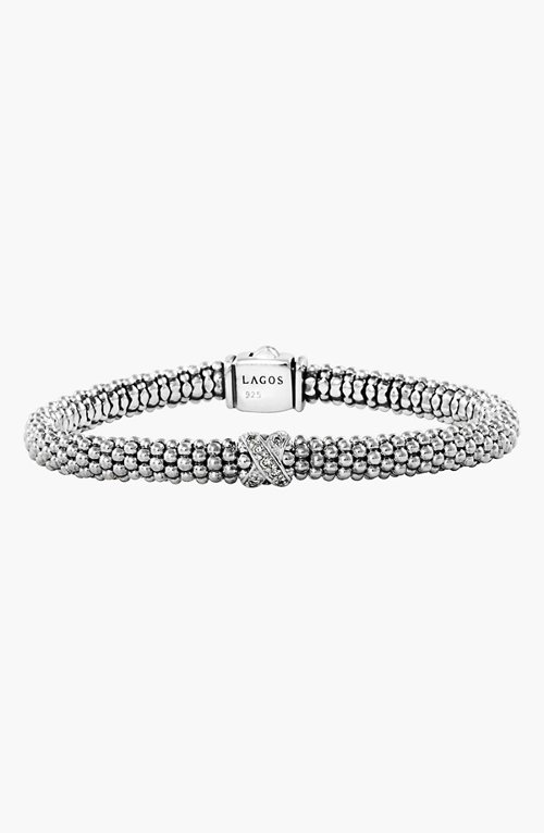 Caviar Diamond Rope Bracelet by Lagos in Sex and the City 2