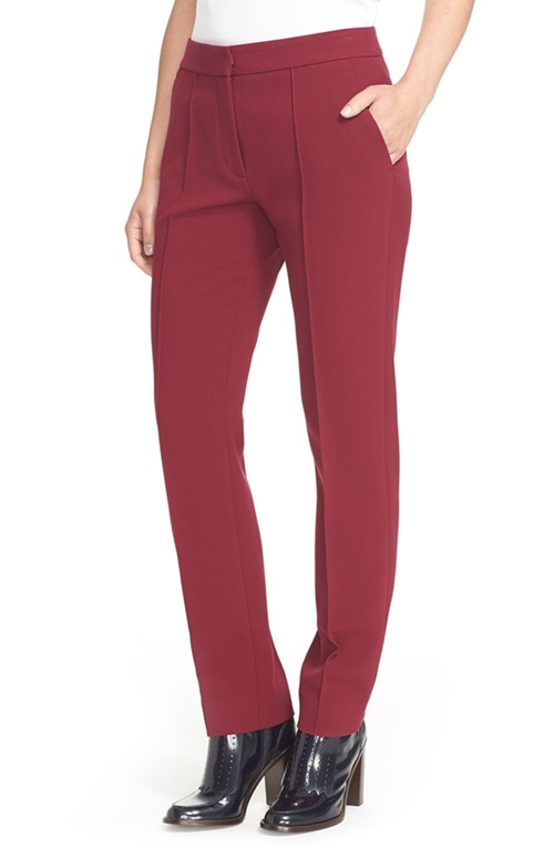 Stretch Suiting Trousers by Tory Burch  in Pretty Little Liars - Season 6 Episode 16