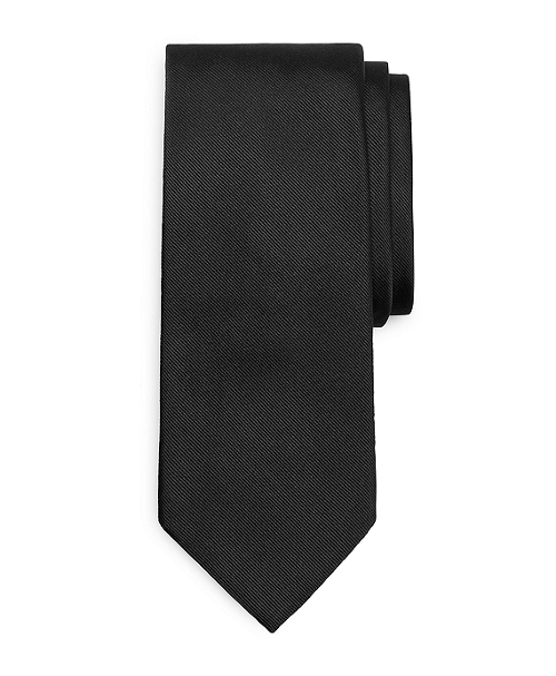 Solid Repp Tie by Brook Brothers in Absolutely Anything