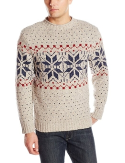 Ironstone Fair Isle Sweater by Woolrich in The Visit