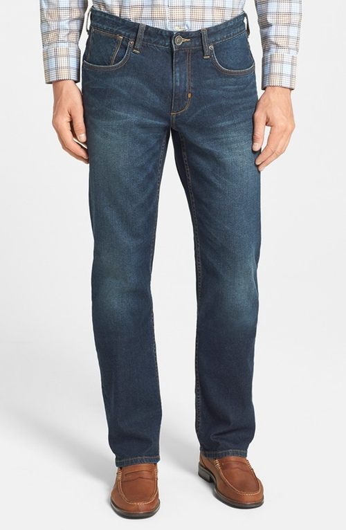 Denim 'Dallas' Authentic Fit Straight Leg Jeans by Tommy Bahama in 99 Homes