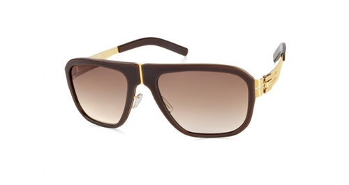 M8 Pappelplatz Sun-Gold-Coffee Sunglass by ic! Berlin in American Horror Story