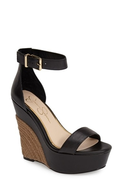 'Arista' Wedge Sandals by Jessica Simpson in She's Funny That Way