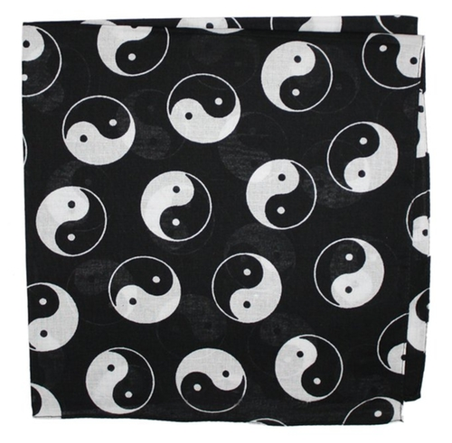 Asian Influenced Cotton Bandana by Ted And Jack in Zoolander 2