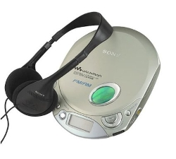 Portable CD Player by Sony in Masterminds