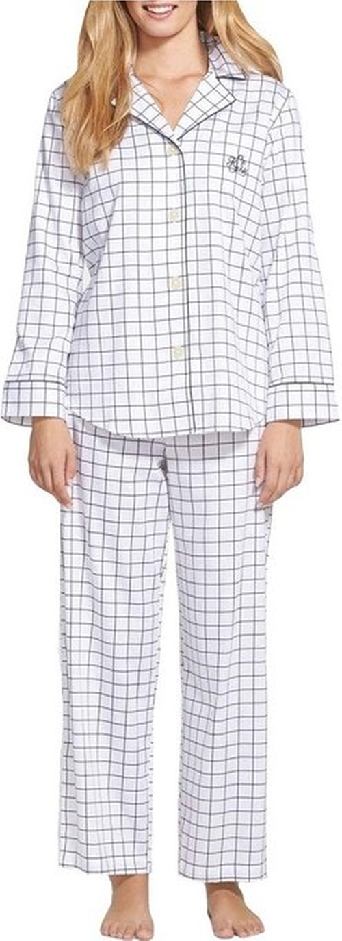 Sateen Pajama Set by Lauren Ralph Lauren in Pretty Little Liars - Season 6 Episode 2
