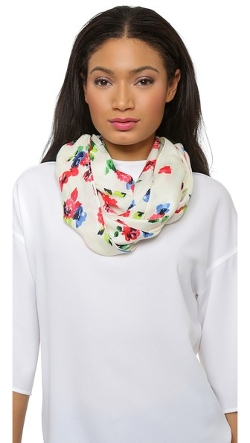 Spring Garden Infinity Scarf by Kate Spade New York in No Escape