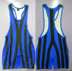Man Tights Stripes Wrestling Singlet Wrestling Outfit Trunk Bodywear by Aliexpress in Pain & Gain