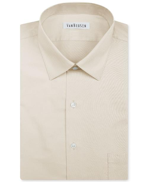 Herringbone Solid Dress Shirt by Van Heusen in Get On Up