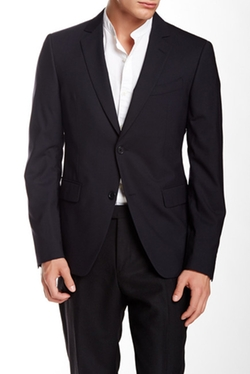 Austin Two Button Notch Lapel Suit Separates Jacket by John Varvatos Collection in The Mindy Project