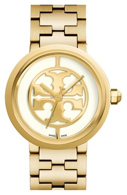 'Reva' Logo Dial Bracelet Watch by Tory Burch in Scandal