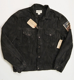 USA Flag Distressed Jacket by Denim & Supply Ralph Lauren in Teen Wolf