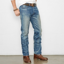 Straight-Fit Hunter Jeans by Ralph Lauren in Poltergeist