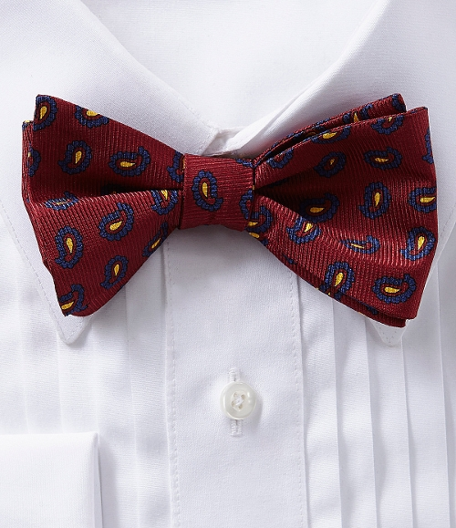 Printed Silk Bow Tie by Cremieux in The Second Best Exotic Marigold Hotel