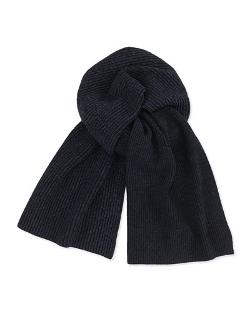 Marled Knit Scarf by Theory	 in New Year's Eve