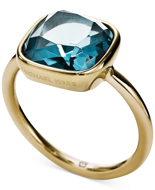 Stainess Steel Citrine Stone Ring by Michael Kors in Insidious: Chapter 3