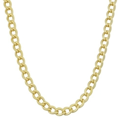 Men's High Polish Miami Cuban Chain Necklace by KoolJewelry in Popstar: Never Stop Never Stopping