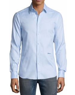 Button-Front Dress Shirt by Just Cavalli in Crazy Ex-Girlfriend