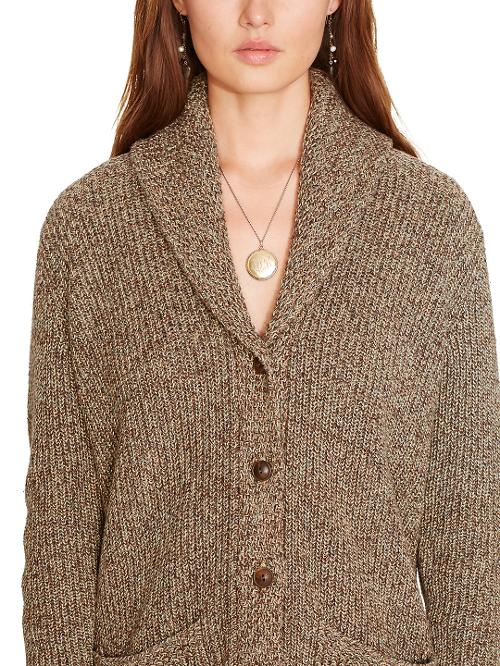 Shawl-Collar Cardigan by Polo Ralph Lauren in New Year's Eve