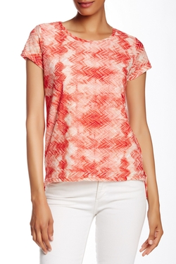 Tie Dye Broken Lace Crew Tee by Kikit in Mistresses