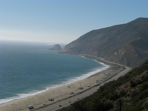 Pacific Coast Highway Malibu, California in Wish I Was Here