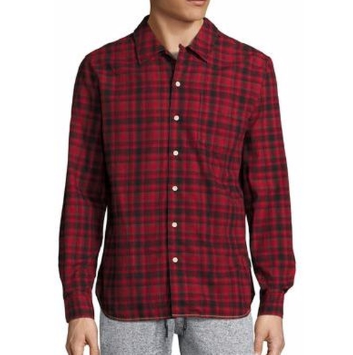 Flannel Plaid Shirt by Surfside Supply Co. in Power Rangers