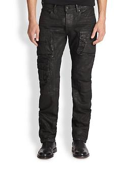 Courier Cargo Pants by Ralph Lauren Black Label in The Expendables 3
